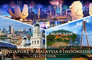 DU LỊCH SIN-MALAY-INDO: TRI CITY TOUR (T3/2016)