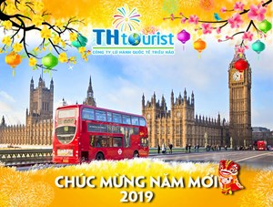 DU LỊCH ANH QUỐC: BRUNEI - LONDON - MANCHESTER - OXFORD - CITY TOUR (27/12/2018)