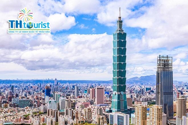 Tòa tháp Taipei 101 - Du lịch Đài Loan