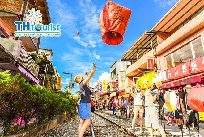 Phố cổ Shiffen - Du lịch Đài Loan